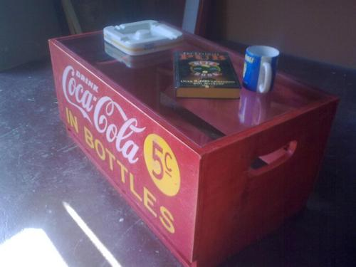 Tables Vintage Coke Crate Coffee Table Was Sold For On 4 Sep At 16 01 By Retrorelix