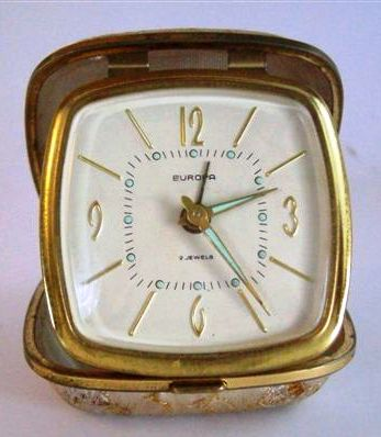Alarm Amp Travel Clocks Vintage Antique Europa Travel