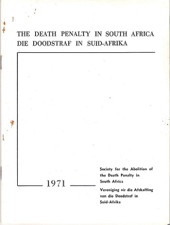 death penalty south africa essay