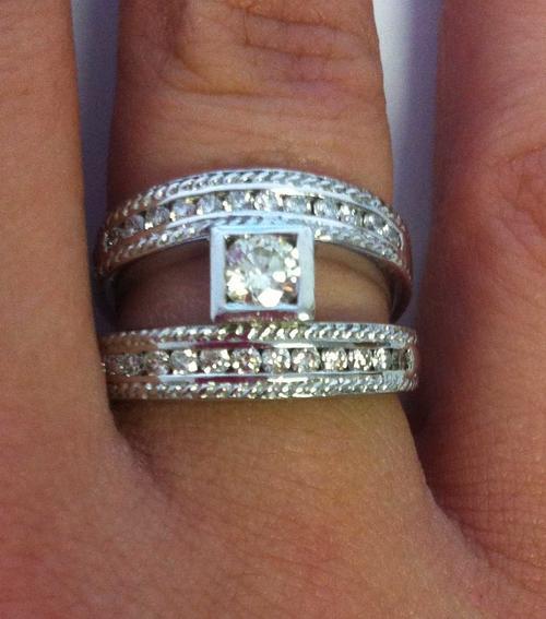 Engagement Rings  9 Crt White Gold Diamond Ring Was. Delicate Flower Engagement Rings. Celebrity Mismatched Wedding Engagement Rings. Halo Rings. Multi Metal Wedding Rings. Kid Girl Rings. Beach Wedding Wedding Rings. Over Top Wedding Rings. Spacer Wedding Rings