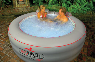 Other Bath Amp Body Portable Jacuzzi Blow Up Type With