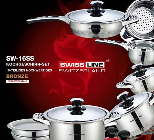 cookware sets r23500 swiss line 18 10 stainless steel