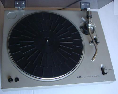 Turntables Akai Ap 001 Turntable Lp Sp Player Was Sold