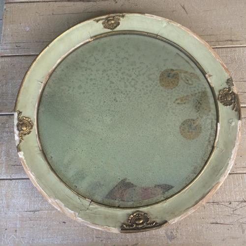 Frames mirrors large round antique beveled mirror for Large round mirrors for sale