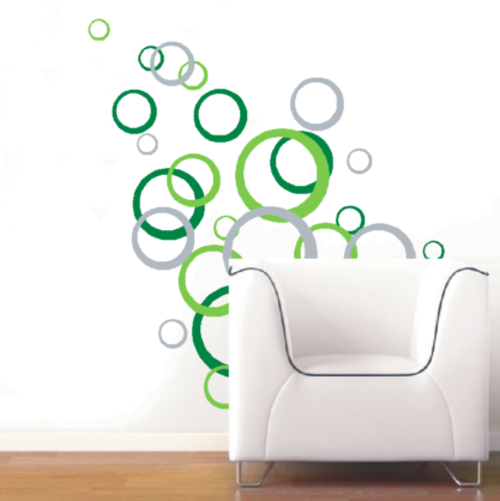 Abstract Circle Wall Art
