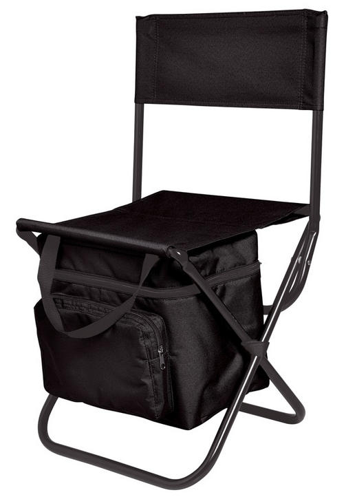 Other Camping & Outdoors Fold up chair with attached cooler bag Great