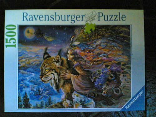 puzzles beautiful 1500 piece ravensburger jigsaw puzzle. Black Bedroom Furniture Sets. Home Design Ideas