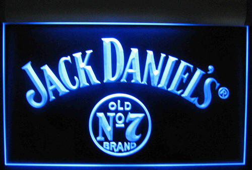 Bar Accessories - Jack Daniels electric neon sign was sold