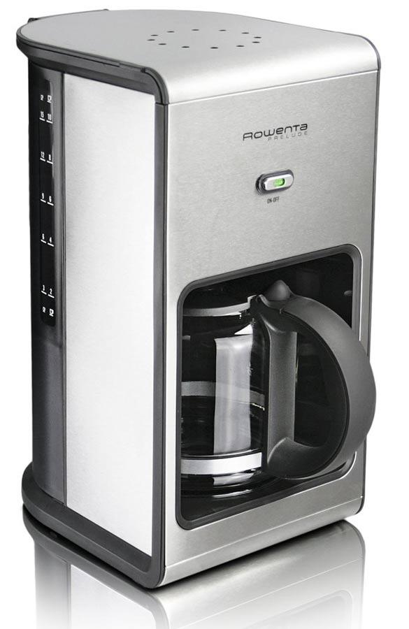 How To Use German Coffee Maker : Tea & Coffee Makers - ROWENTA Prelude Stainless Steel ...