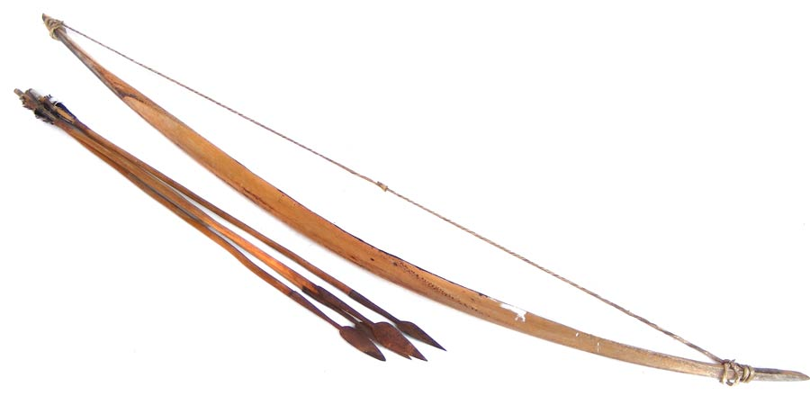 Real Bow And Arrow Other Antiques & C...