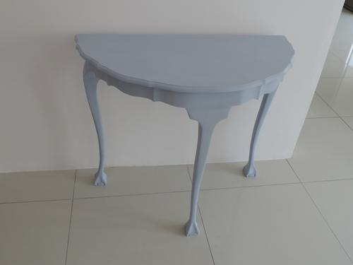 Blue Half Moon Table Blue Half Moon Table Bidorbuy