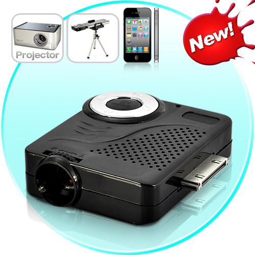 Other electronics mini multimedia projector with tripod for Mini projector for iphone
