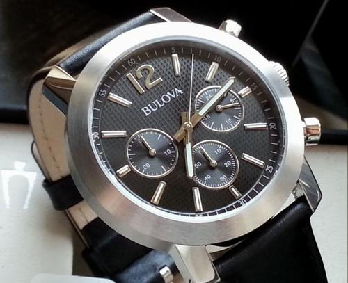 s watches bulova s chronograph 96a159 in