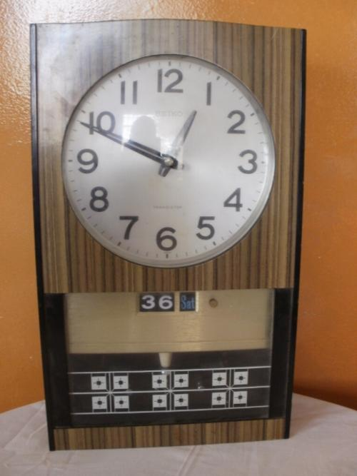 Cuckoo Amp Wall Clocks Seiko Transistor Clock Was Sold