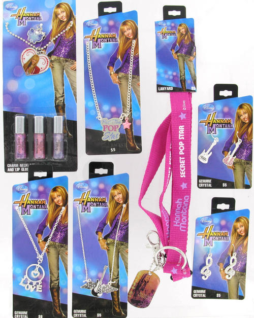 Hannah Montana Best Friends Forever Necklace set  R1 NO Reserve Three Best Friends Forever Necklace