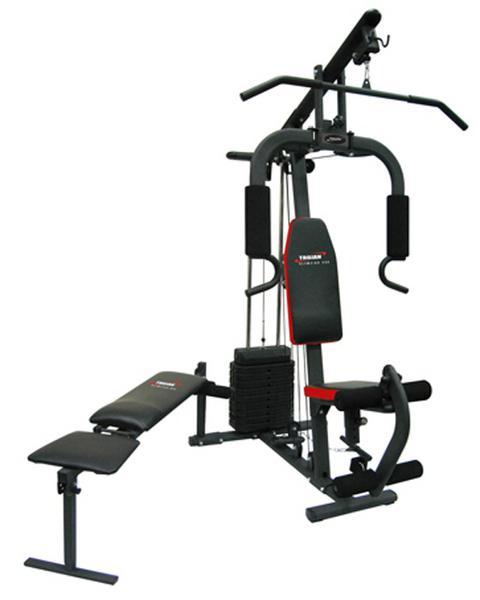 Exercise equipment trojan olympiad home gym was