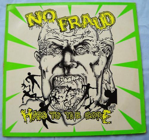 Alternative Rock Lp No Fraud Hard To The Core Usa Punk