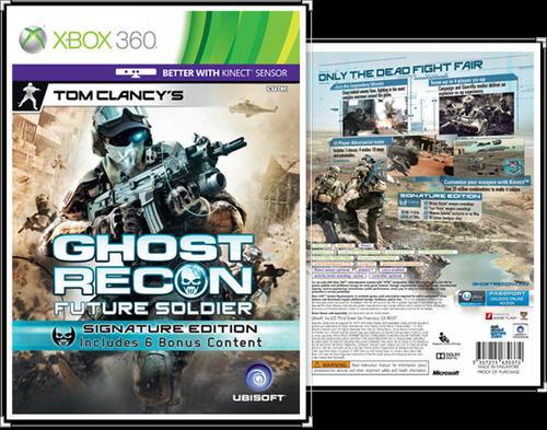 Room Cover Ghost Recon Ghost Recon Future Soldier Wii: *GHOST RECON Future Soldier * Xbox 360 Game Was
