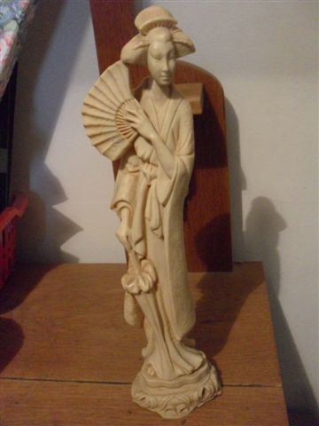 Other Ornaments Pretty Oriental Lady Figurine 36 Cm