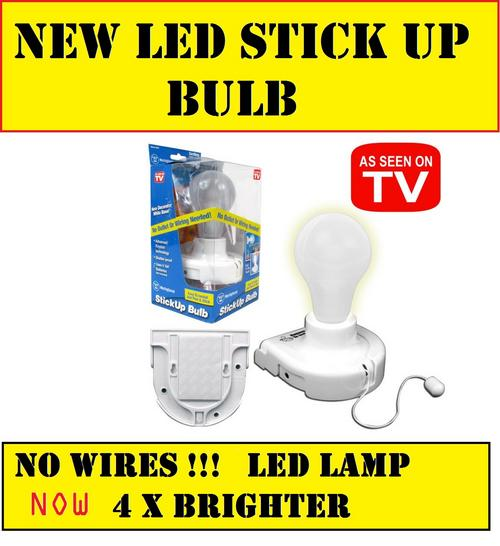 Wall Light Bulb As Seen On Tv : Other Electronics - NEW LED STICKUP BULBS FOR HOME OFFICE OR PLAY R99.00 AS SEEN ON TV was sold ...