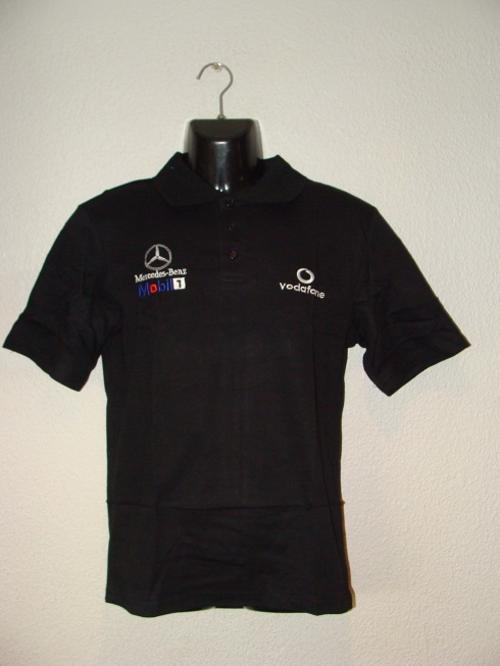 T shirts mens mclaren mercedes benz cotton golf t shirt for Mercedes benz t shirt