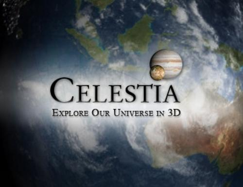 Education reference celestia 3d space simulator for 3d room simulator