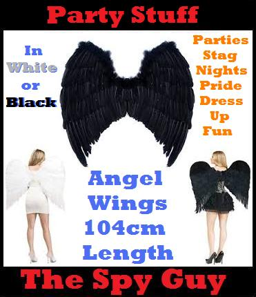 Angel Wings 1m in Length ideal for Dress Ups Parties Gay ...